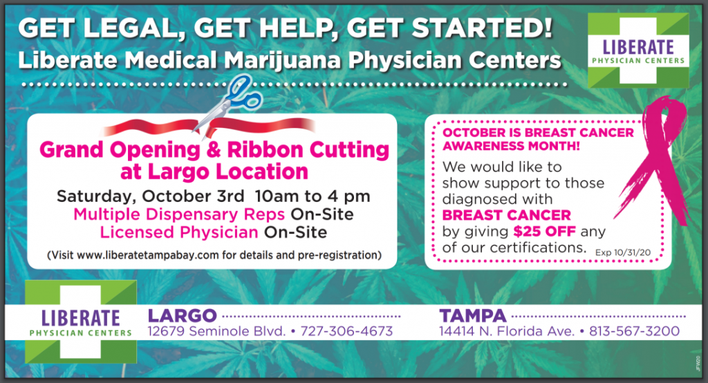 Liberate Largo: Grand Opening! October 3rd, 2020